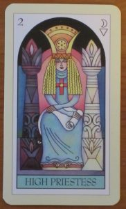 The High Priestess Tarot Card For Monday Daily Tarot Girl