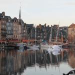 Normandie-Honfleur-port