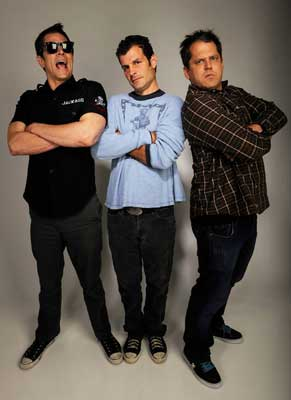 Johnny Knoxville, Mat Hoffman, Jeff Tremaine