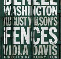 Fences on Broadway poster