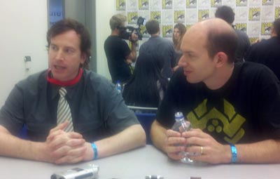 Rob Huebel and Paul Scheer