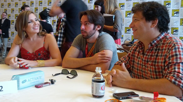 NTSF-SD-SUV's-Martin-Starr,-June-Diane-Raphael-and-Ex-Producer-John-Stern-at-Comic-Con