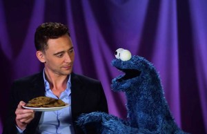 Tom Hiddleston Taunts Poor, Hungry Cookie Monster With Delicious Cookies