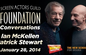 Spend 1 1/2 Hours with Sir Ian McKellen & Sir Patrick Stewart (video)