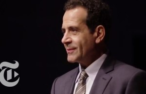 Tony Nominee Tony Shalhoub Performs a Scene from 'Act One' (video)