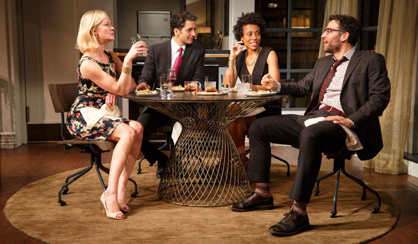 Cast of Broadway's Disgraced