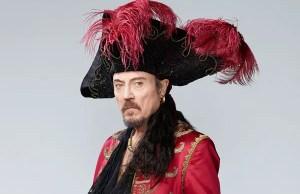 Peter Pan Live Christopher Walken as Captain Hook