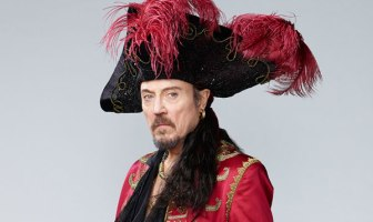 Peter Pan Live Christopher Walken as Captain Hook