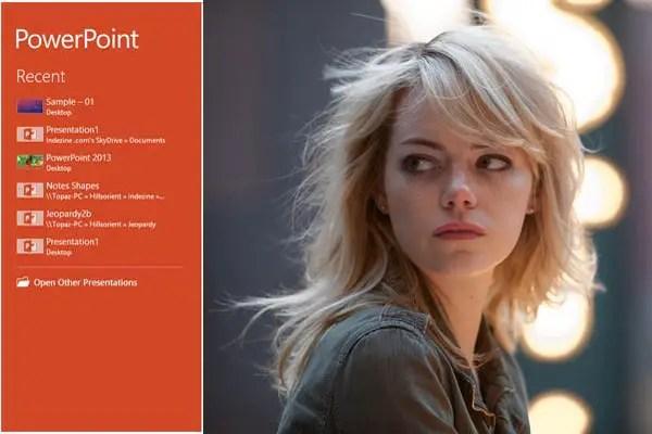 Emma Stone Powerpoint Acting