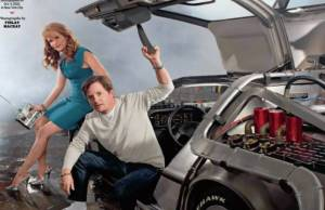 Back to the Future reunion with Michael J. Fox and Lea Thompson