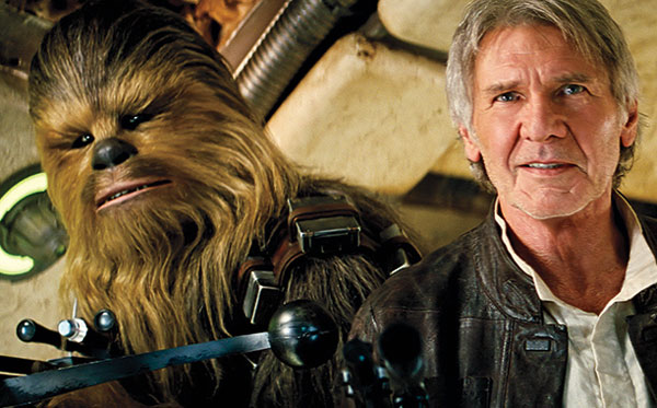 Harrison Ford Star Wars The Force Awakens