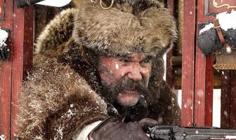 Kurt Russell in The Hateful Eight