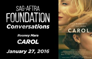 Watch: Conversations with Rooney Mara of 'Carol'
