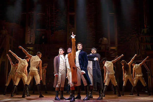 Broadway San Diego Hamilton Review