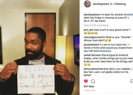 David Oyelowo: Highlights from His Reddit 'AskMeAnything'
