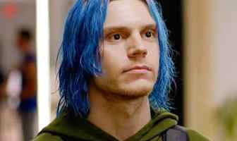 Actor Evan Peters in American Horror Story