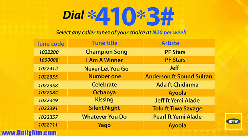 Mtn Project Fame West African Top PF Callertunez