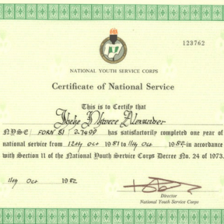 How to Verify NYSC Certificate