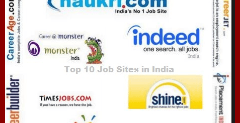 List Of Best Job Sites In India