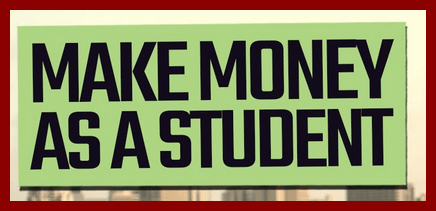 How To Make Money As A Student