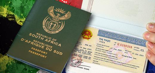 South African Visa Registration