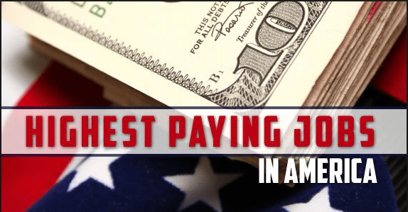 Best Paying Jobs In America