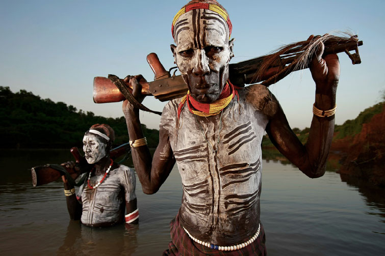Karo People, South West Ethiopia © Brent Stilton 2007