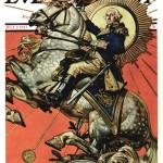 Saturday Evening Post - J.C. Leyendecker George Washington on Horseback 1927