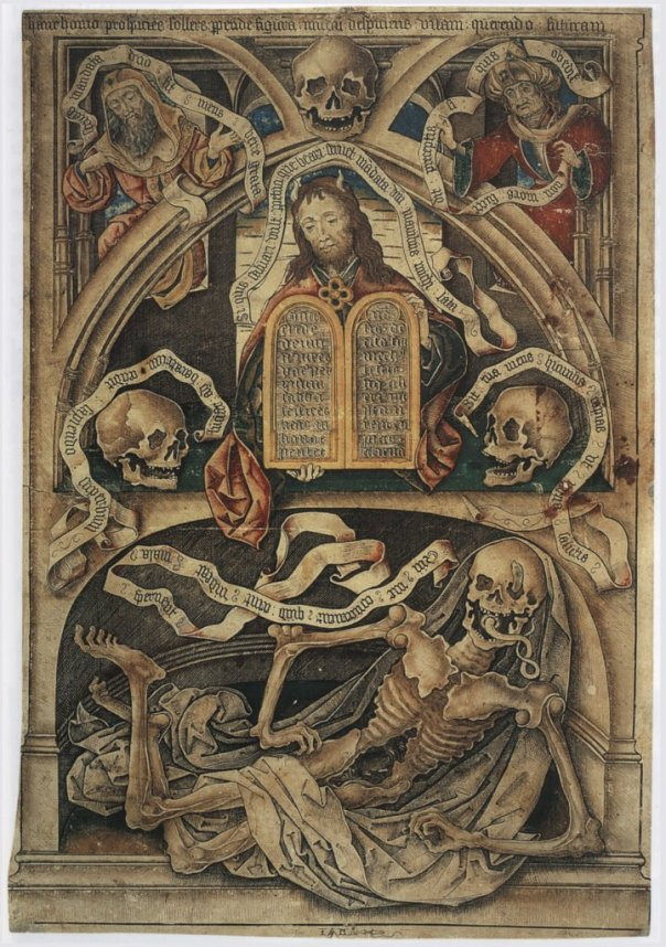 Master IAM of Zwolle Allegory of the Transience of Death; Death in Art