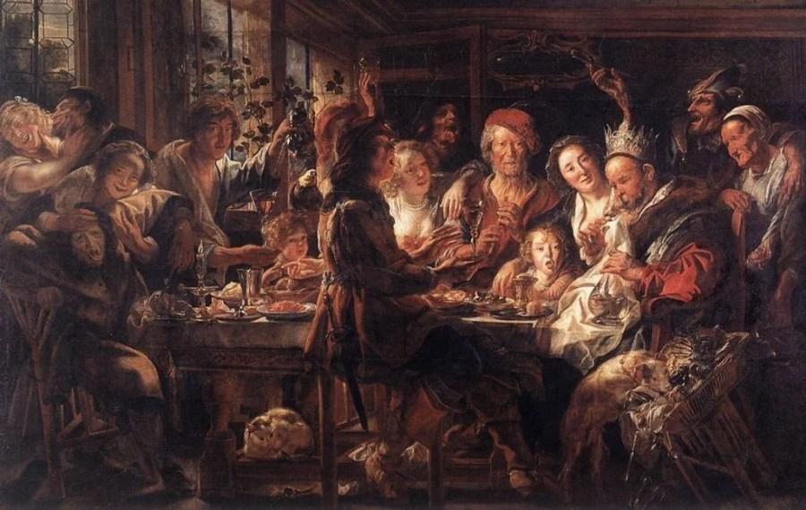 Jacob Jordaens and the Feast of the Bean King | DailyArt Magazine
