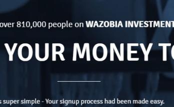 Easy Money Using Wazobia Cash Ivestment