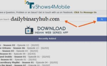 TvShows4Mobile App