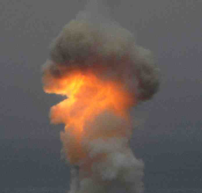 ICBM-fighting missile test-fired at Vandenberg Space Force Base