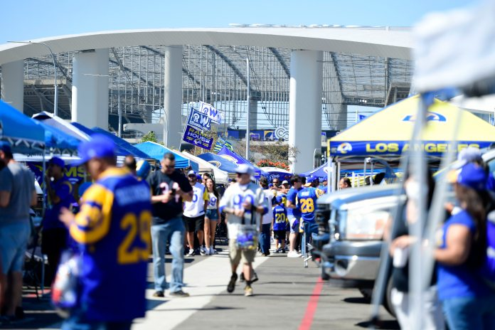 'They're finally home': LA Rams play in front of Sophie crowd for first time