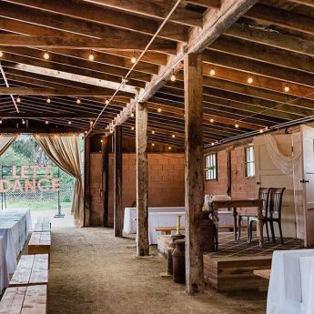 Wedding Venue at Sweetwater farms california