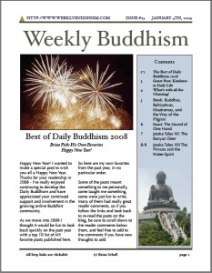 Weekly Buddhism Issue 13