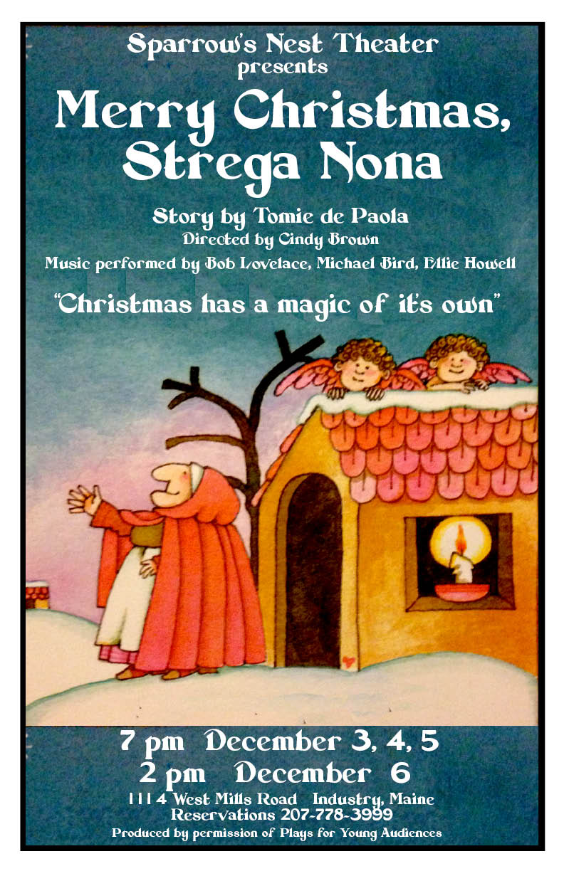 Merry Christmas Strega Nona At Sparrow S Nest In