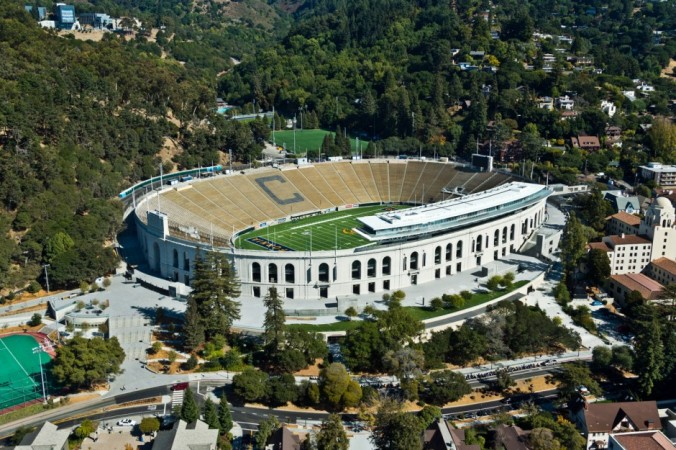 The renovated Memorial Stadium was unveiled in 2012, with a $321 million price tag.