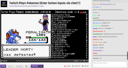 Twitch Plays Pokemon captures the attention of UC Berkeley