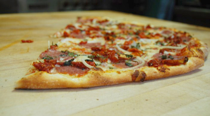 Italian Special Pizza of the Day at La Val's. Rachel Feder/Staff