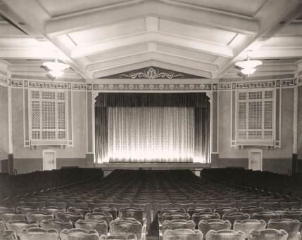 Interior of UC Theatre currently
