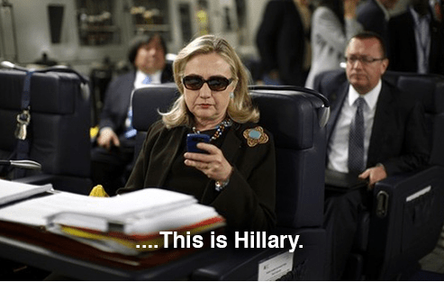 text from hillary meme