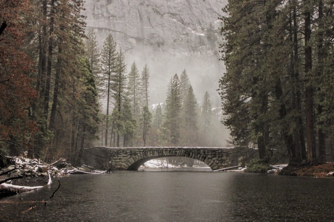 Stoneman Bridge in Yosemite National Park