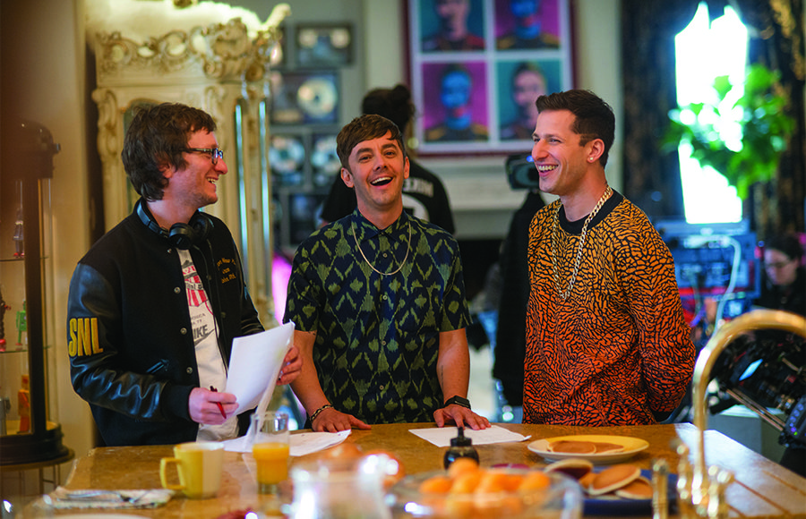 The Lonely Island talks stepping onto the big screen with