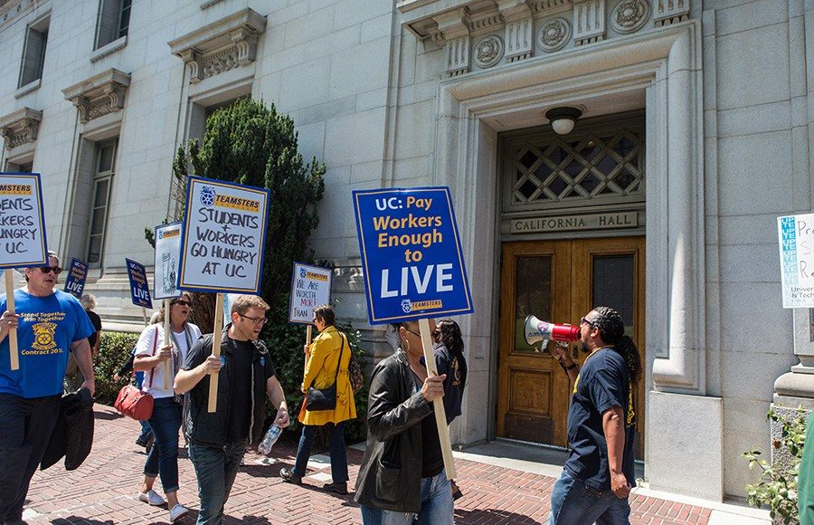 UC, Teamsters Local 2010 reach provisional labor agreement