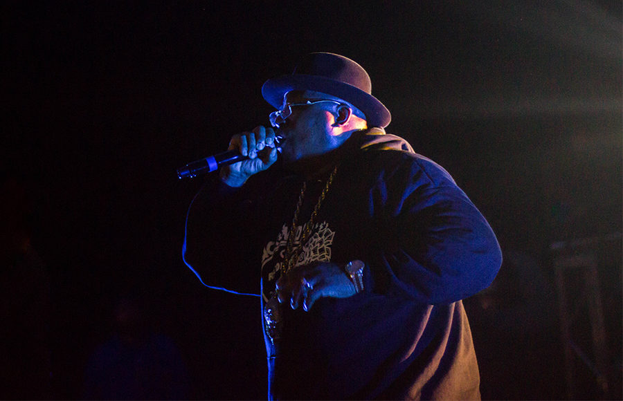 E-40 performed in Pauley Ballroom to welcome new freshman to Cal