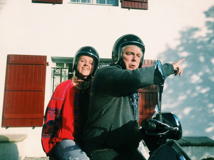 Most importantly make sure your friend's mad uncle knows where he is going before you agree to a vespa ride // indiaclare