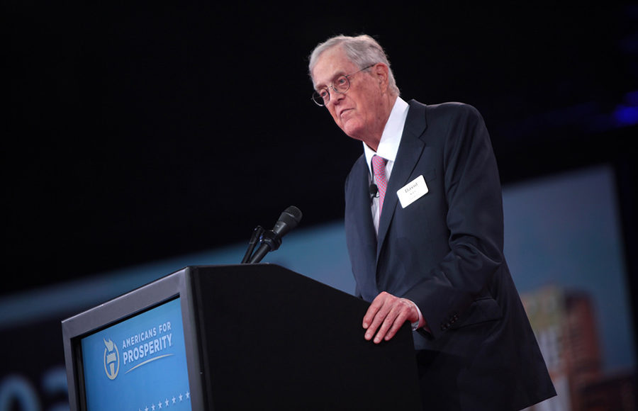 UC Berkeley postdoctoral fellow funded by Koch brothers