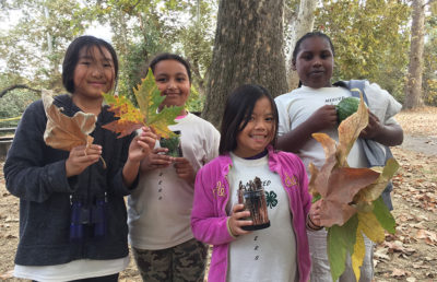 4th grade students enjoy the outdoors at an event organized through a partnership between the California Outdoor Engagement Coalition and the California 4-H Latino Initiative
