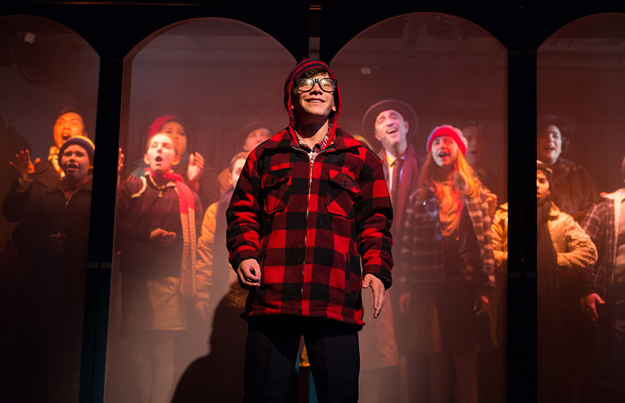A Christmas Story Musical.A Christmas Story The Musical Doesn T Quite Ring In The